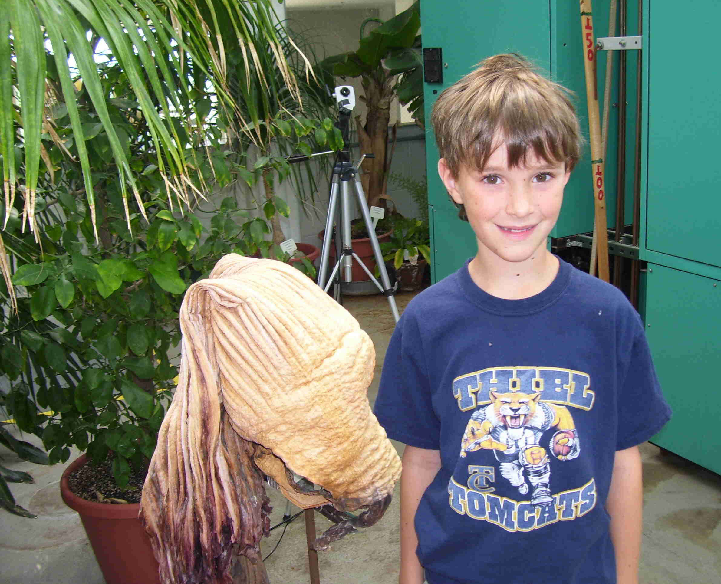 Michael and the Perry Mummy