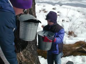 dumping the buckets